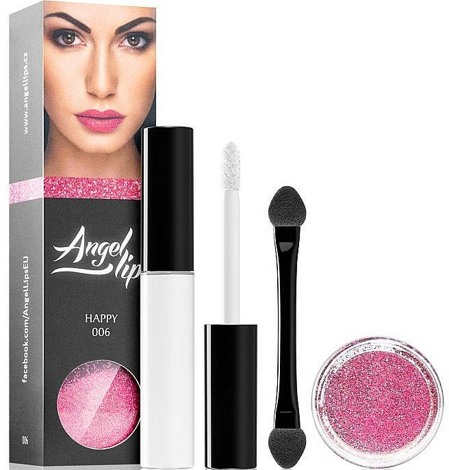 Set - Di Angelo Angel Lips (base/4ml + glitter/3g)