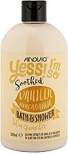 Fragrances, Perfumes, Cosmetics Vanilla & Macadamia Shower Gel - Anovia Vanilla & Macadamia Bath & Shower