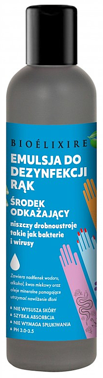 Hand Antiseptic - Bioelixire — photo N2