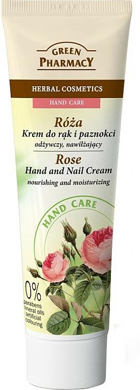 """Nourishing Hand and Nail Cream """"Rose"""" - Green Pharmacy"""