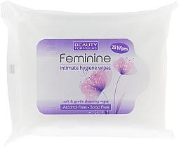Fragrances, Perfumes, Cosmetics Intimate Hygiene Wipes - Beauty Formulas Feminine Intimate Hygiene Wipes