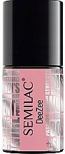 Fragrances, Perfumes, Cosmetics Nail Gel Polish - Semilac x Deezee UV Hybrid Gel Nail Polish