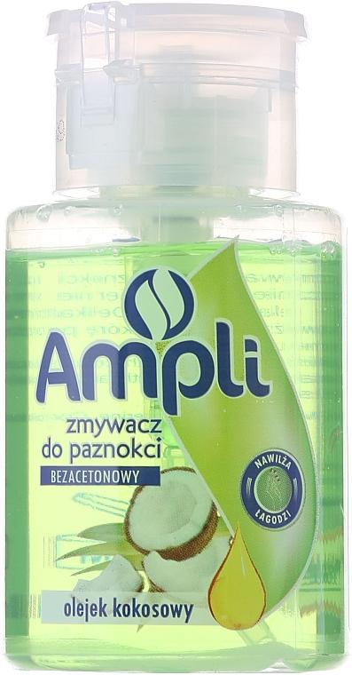 "Nail Polish Remover with Acetone ""Coconut Oil"" - Ampli"