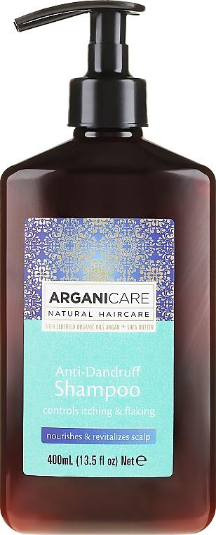 Anti-Dandruff Shampoo - Arganicare Shea Butter Anti-Dandruff Shampoo