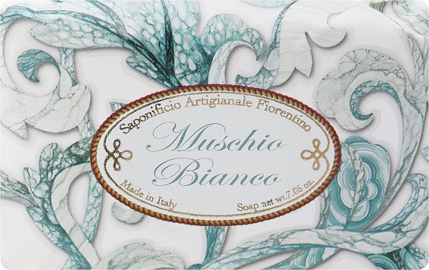 """Toilet Soap """"White Musk"""" - Saponificio Artigianale Fiorentino White Musk"""