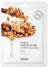 "Fragrances, Perfumes, Cosmetics Daily Mask ""Natto Collagen"" - Yadah Daily Green Mask Natto Collagen"
