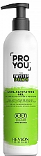 Fragrances, Perfumes, Cosmetics Curl Activator - Revlon Professional Pro You The Twister Scrunch Curl Activator Gel