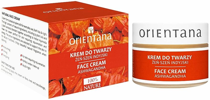 """Facial Cream """"Indian Ginseng"""" - Orientana Face Cream Ashwagandha"""