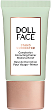 Fragrances, Perfumes, Cosmetics Redness Correcting Face Primer - Doll Face Stand Corrected Complexion Equalizer Primer