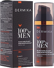 Fragrances, Perfumes, Cosmetics Moisturizing & Repairing Cream - Dermika Ultra-Hydrating And Revitalizing Cream 30+