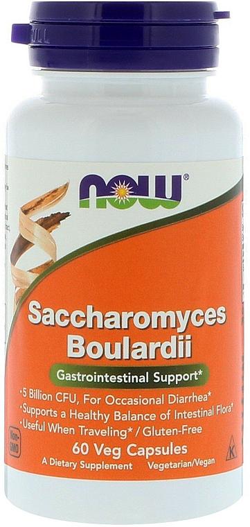 "Capsules ""Saccharomyces Boulardii"" - Now Foods Saccharomyces Boulardii"