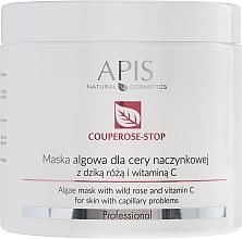 Fragrances, Perfumes, Cosmetics Rosehip Extract Face Mask - APIS Professional Algae Mask