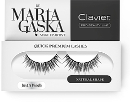 Fragrances, Perfumes, Cosmetics Flase Lashes - Clavier Quick Premium Lashes Just A Pinch 811