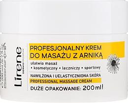 "Fragrances, Perfumes, Cosmetics Massage Cream ""Arnica"" - Lirene Professional Massage Cream"