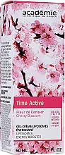 Face Gel Cream - Academie Time Active Cherry Blossom Liposomes Energy Booster — photo N2