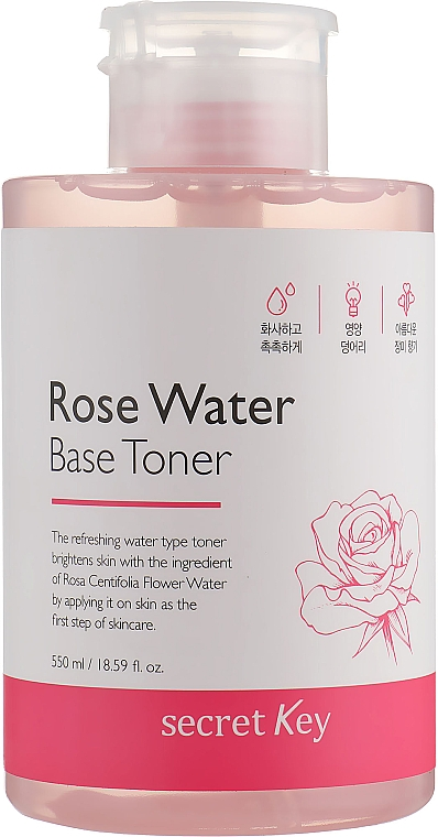Rose Water Base Toner - Secret Key Rose Water Base Toner