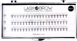Fragrances, Perfumes, Cosmetics False Lashes - Lash Brown Premium Flare Silk Lashes Natural Long
