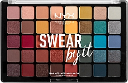 Fragrances, Perfumes, Cosmetics Shadow Palette - NYX Professional Makeup Swear By It Shadow Palette