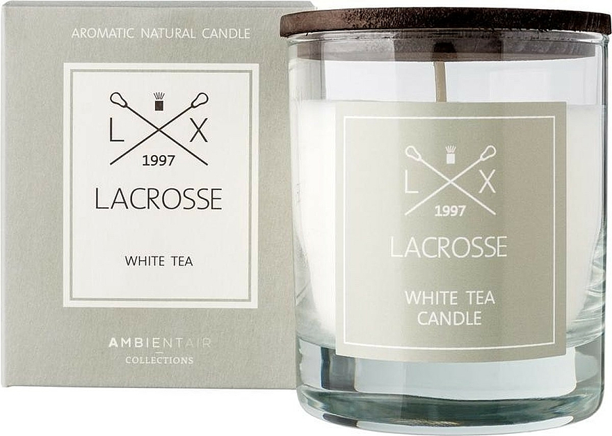 Scented Candle - Ambientair Lacrosse White Tea Candle — photo N1
