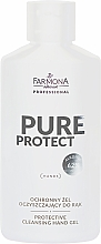 Fragrances, Perfumes, Cosmetics Protective Hand Gel - Farmona Professional Pure Protect Hand Gel