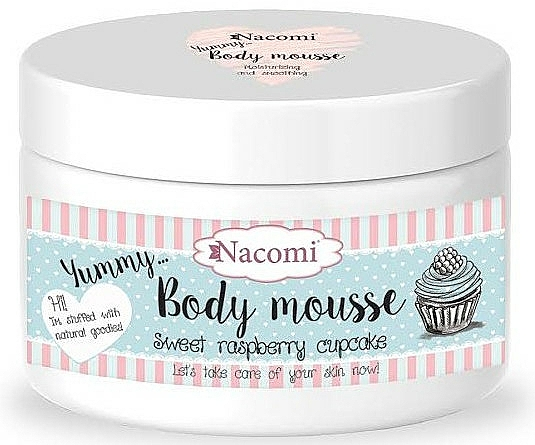 """Body Mousse """"Sweet Raspberry Muffin"""" - Nacomi Body Mousse"""