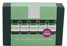 Set - The Body Shop Travel Exclusive Tea Tree Oil Collection (oil/5x10ml) — photo N1