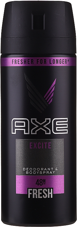 "Men Antiperspirant Aerosol ""Excite"" - Axe Deodorant Bodyspray Dry Excite"