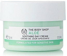 Fragrances, Perfumes, Cosmetics Soothing Aloe Day Cream - The Body Shop Aloe Soothing Day Cream