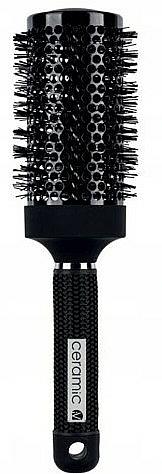 Round Hair Brush for Styling, 498739, 55 mm. - Inter-Vion Black Label Ceramic