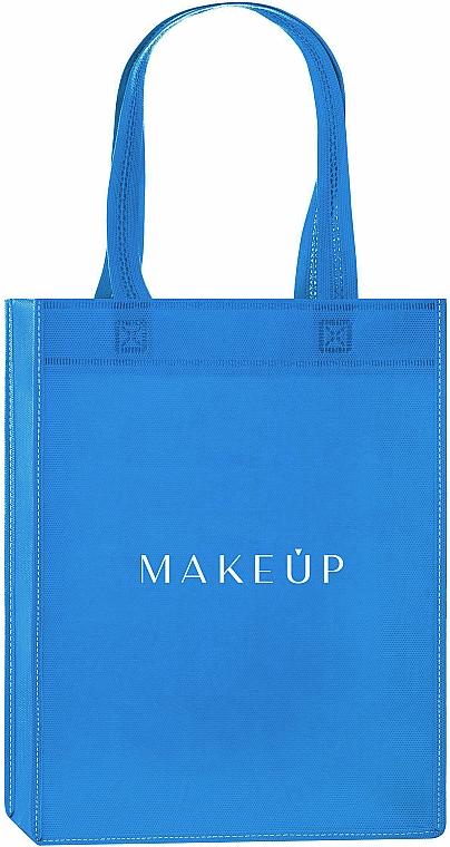 "Shopping Bag, blue ""Springfield"" - MakeUp Eco Friendly Tote Bag"
