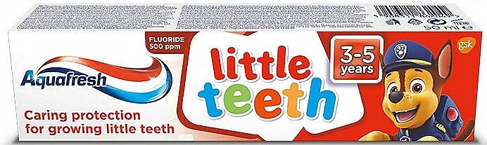 "Toothpaste ""My Milk Teeth"" - Aquafresh Kids PAW Patrol"