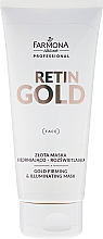 Fragrances, Perfumes, Cosmetics Gold Face Mask - Farmona Retin Gold Mask