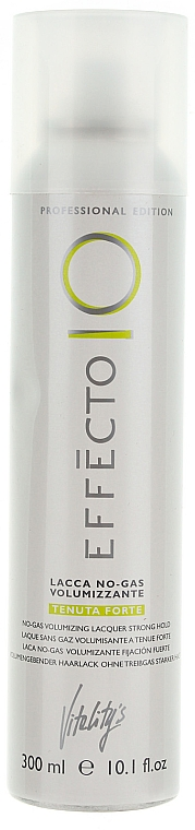 Strong Hold No Gas Hair Spray - Vitality's Effecto Lacca No Gas