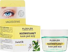 Fragrances, Perfumes, Cosmetics Vitamin C Brightening Eye Cream - Floslek