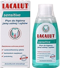 "Fragrances, Perfumes, Cosmetics Mouthwash ""Sensitive"" - Lacalut Sensitive"