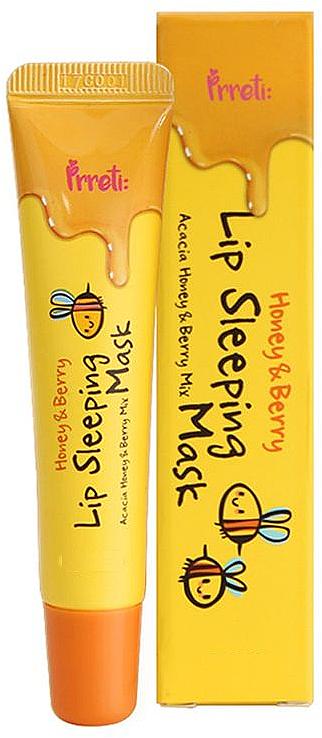 Night Lip Mask - Prreti Honey & Berry Lip Sleeping Mask
