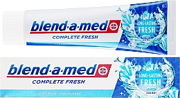 Fragrances, Perfumes, Cosmetics Toothpaste - Blend-a-med Complete Fresh Long Lasting Fresh