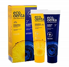Fragrances, Perfumes, Cosmetics Set - Ecodenta (toothpast/100ml + toothpast/100ml)