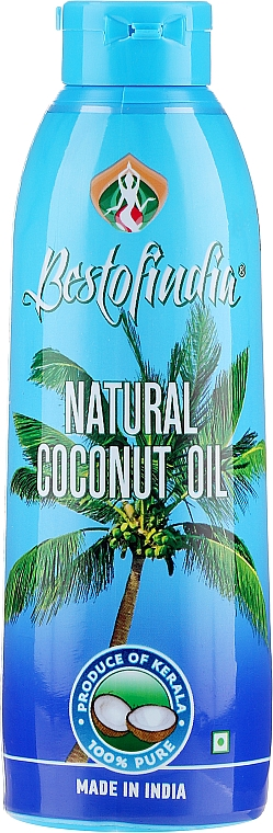 Kerala Natural Hair & Body Coconut Oil - Bestofindia Natural Coconut Oil