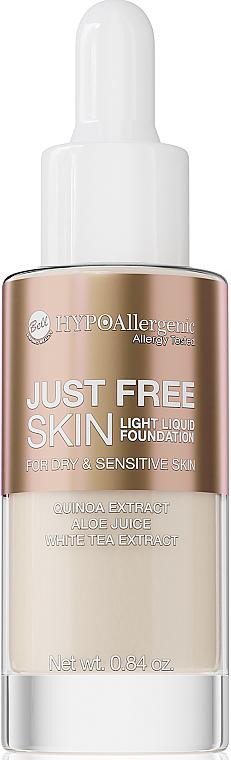 Fluid Foundation - Bell Just Free Skin Light Liquid Foundation