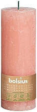 Fragrances, Perfumes, Cosmetics Cylindrical Candle, pink, 190x68 mm - Bolsius