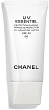 Fragrances, Perfumes, Cosmetics UV Protection Complex Gel-Cream - Chanel UV Essentiel Complete Protection UV-Pollution-Antiox SPF 50