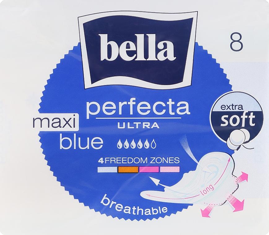 Pantiliners Perfecta Blue Maxi Soft Ultra, 8 pcs - Bella