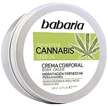 Fragrances, Perfumes, Cosmetics Body Cream - Babaria Cannabis Moisturizing Body Cream