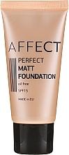 Fragrances, Perfumes, Cosmetics Mattifying Foundation - Affect Cosmetics Perfect Matt Foundation