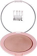 Fragrances, Perfumes, Cosmetics Face Powder - Golden Rose Nude Look Sheer Baked Powder