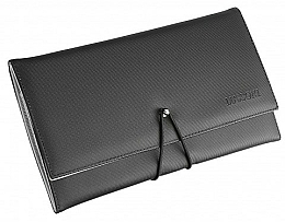 Fragrances, Perfumes, Cosmetics Case with Rubber Band for 9 Hairdresser Combs - Lussoni