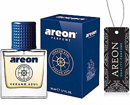 Fragrances, Perfumes, Cosmetics Car Air Freshener - Areon Luxury Car Perfume Long Lasting Air Freshener Verano Azul