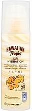 Fragrances, Perfumes, Cosmetics Sun Lotion for Body - Hawaiian Tropic Silk Hydration Air Soft Lotion SPF 50
