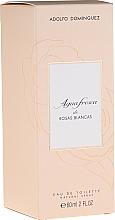 Fragrances, Perfumes, Cosmetics Adolfo Dominguez Agua Fresca de Rosas Blancas - Eau de Toilette